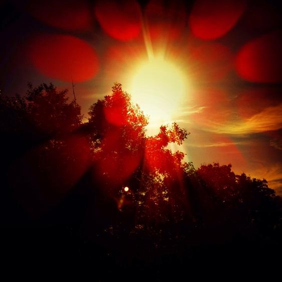 Sonnenaufgang in Schwentinental / Sunrise in Schwentinental