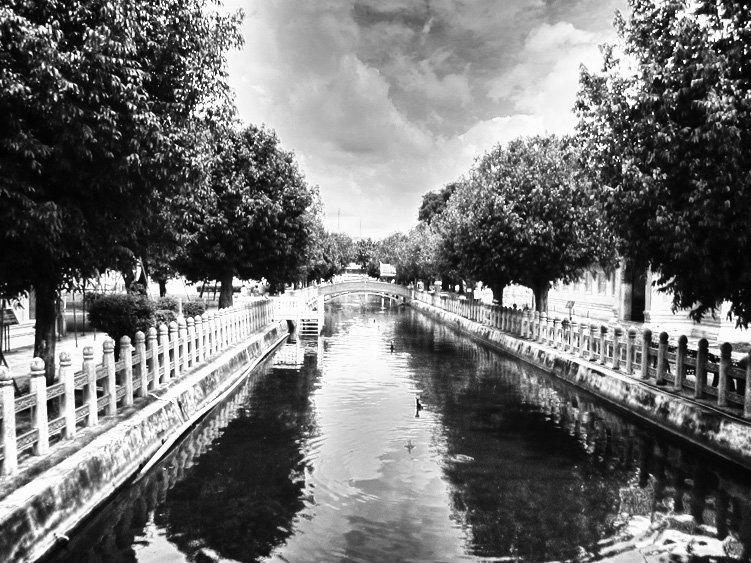 Kanal aus dem Jahre 1900