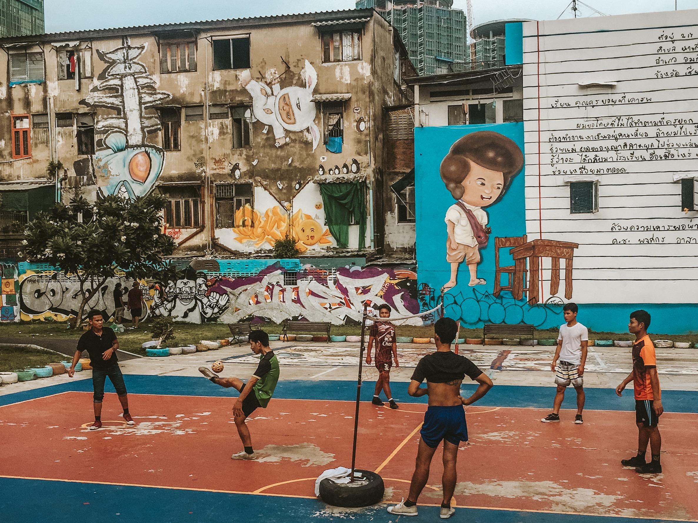 Chalermla Park / Graffiti Park